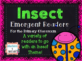Insect Emergent Readers