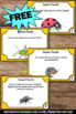 Free Insects Facts Task Cards Spring or Summer Science Cen