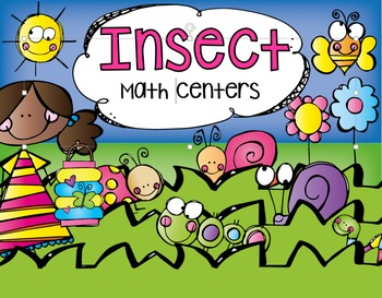Insects Math Centers {CCSS}