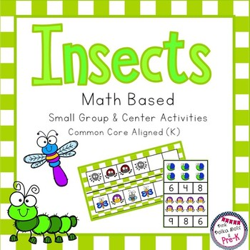 Insect Math Pack - Counting, Patterns, Measuring, Number R