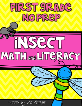Insect Math and Literacy