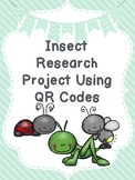 Insect Research Project with QR Codes