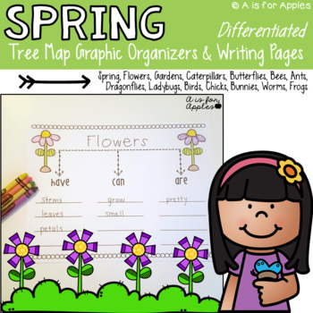 Spring Tree Map Graphic Organizers