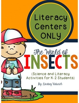 Insect Unit (Literacy Centers ONLY)