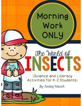 Insect Unit (Morning Work ONLY)