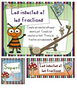 Insectes et fractions / bug fractions