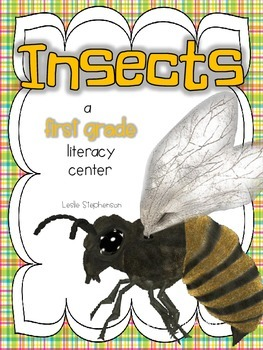 Insects - A First Grade Literacy Center