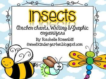 Insects: Anchor Charts & Graphic Organizers