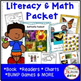 Butterflies: Butterfly Packet of Literacy and Math Activit