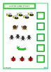 Insects Count, Sequence, Add, Subtract, Write & Wipe Cards