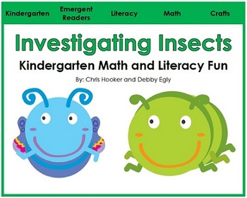 Insects: Math and Literacy Fun