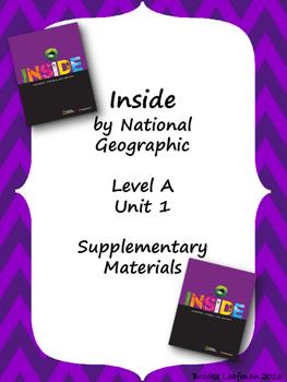 Inside Level A Unit 1 Supplementary Materials