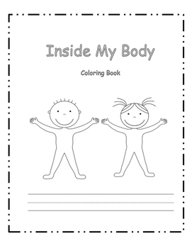 Inside My Body Coloring Book