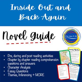 Inside Out And Back Again - Grade 5 - Novel Unit