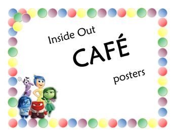 Inside Out CAFE posters
