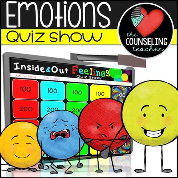 Inside & Out Emotions Quiz Show and Poster bundle
