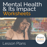 Inside Out Worksheet: Mental Health & Well-Being (Inside O