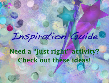Inspiration Guide and FREEBIE