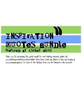 Inspiration Quotes Bundle