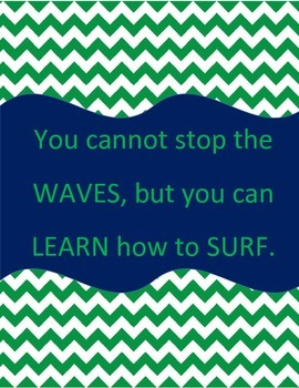 """Nautical Inspiration """"You cannot stop the waves, but you c"""