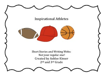 Inspirational Athletes - CLOSE reads, graphic organizers a