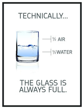 Inspirational Classroom Poster: Technically It's Full...