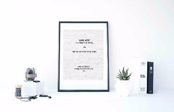"Inspirational Poster, ""Every artist dips his brush"" -Henry"