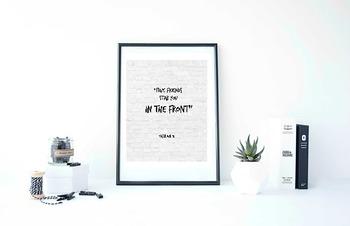 "Inspirational Poster, Oscar Wilde Quote - ""True Friends st"