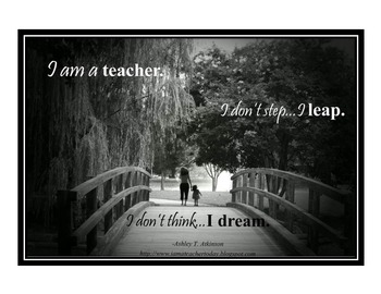 Inspirational Posters for Teachers- Big Dreams.