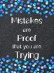 Inspirational Quotes Posters Chalkboard and Confetti