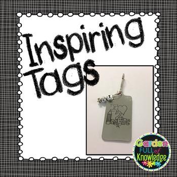 Inspirational Tags - Rectangular (Brag Tags, Key Chains, L