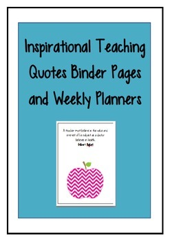 Inspirational Teaching Quotes