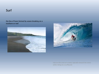 Inspired by the Sea Vocabulary PPT