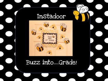 Buzz into....Grade-Bee Instadoor Decor or Bulletin Board