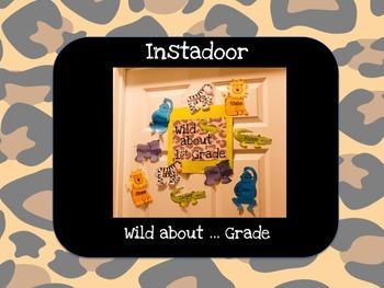 Wild about...Grade-Jungle Instadoor Decor or Bulletin Board