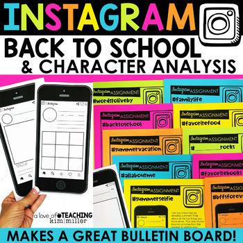 Instagram Back to School Activity