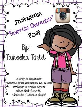 "Instagram ""Favorite Character"" Post"