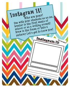 """""""Instagram"""" It! Social-Network Themed Tool for Tons of Cla"""