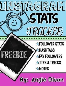 Instagram Stats Tracker FREEBIE