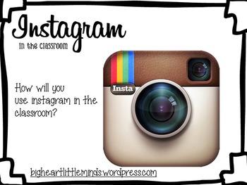 Instagram in your classroom!