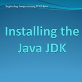 Installing the Java JDK
