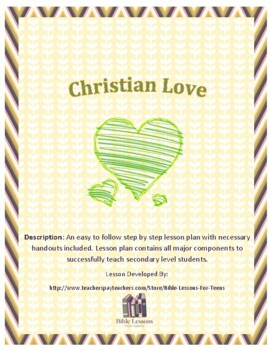 Instant Bible Lesson: Christian Love