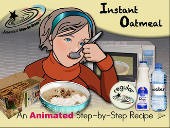Instant Oatmeal - Animated Step-by-Step Recipe