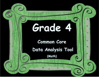 Instructional Analysis Tool - Common Core Math Grade 4