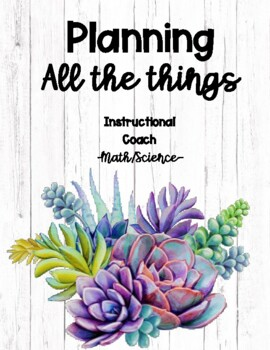 Instructional Coach Detailer (planner) Math/Science