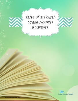Instructional Unit - Tales of the Fourth Grade Nothing by