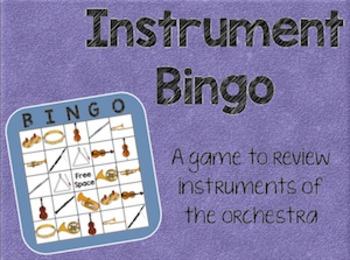 Instrument Bingo SMART Software Edition
