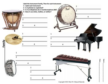 Instrument Families: Percussion