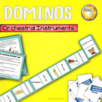 Instrument Family Dominos - music centers and sub activities