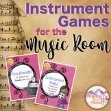 #MusiconTpT Instrument Games for the Music Classroom